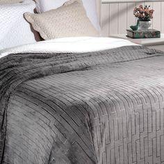 4d3ff74d30 Cobertor Soft Flannel Queen Vermont Sherpa Grafite - 100% Poliéster - Inter  Home - Rozac