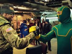 Digital Spy...website to keep track of Sci Fi buzz....like Jim Carrey and Aaron Taylor-Johnson in Kick-Ass 2