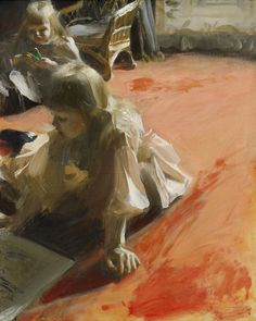 Anders Zorn, The Daughters of Ramón Subercaseaux