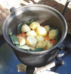 Potato Salad, Grilling, Potatoes, Ethnic Recipes, Dutch Oven, Blog, Bushcraft, Recipies, Iron Pan