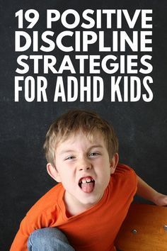 ADHD Strategies for Kids 19 positive parenting tips to help make learning easier for children who struggle to pay attention and focus in the classroom as well as our bes. Gentle Parenting, Parenting Advice, Kids And Parenting, Parenting Classes, Parenting Styles, Parenting Quotes, Peaceful Parenting, Behavior Management Strategies, Adhd Strategies