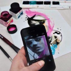 Girls 💕 Girls💕 #art #illustration #drawing #watercolor #watercolortattoo #tattooedparadise #picture #artist #sketch #sketchbook #paper #pen #pencil #artsy #instaart #beautiful #instagood #gallery #masterpiece #creative #photooftheday #instaartist #graphic #graphics #artoftheday
