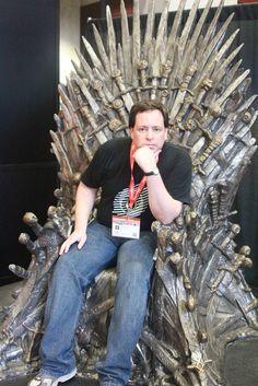 Me on the Iron Throne SXSW by jeffarazzi, via Flickr