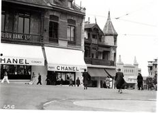 My favorite store, Chanel in Biarritz