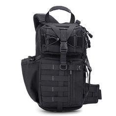 21ccefc28c1d FREE SOLDIER Outdoor Nylon Backpack Rucksack Camping Hiking Men Shoulder Bag