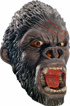 King Congo 3/4 Child Gorilla Mask by Rubies. $11.99. 3/4 Vinyl Child Gorilla Mask. King Congo 3/4 Child Gorilla Mask. Add to sweatpants and a shirt for an easy Halloween costume. One Size fits most children.. Save 37%!