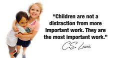 C.S. Lewis best parenting quote #parentingquote #parenthood