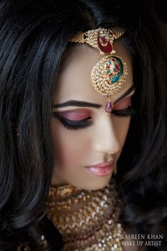 Asian Wedding Ideas - A UK Asian Wedding Blog: {Makeup Portfolio} Nasreen Khan Mua