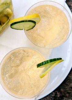 Cocktail Recipe: Cucumber, Ginger & Prosecco Sangria