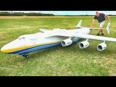 Model: Antonov Pilot: Michael Speier Scale: Wingspan: m Length: app m Take-off weight: kg Engine: Behotec / EDF . Electric Rc Planes, Rc Model Airplanes, Balsa Wood Models, Fly Plane, Airplane Pilot, Plane Design, Best Flights, Applied Science, Model Trains
