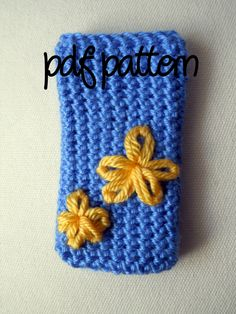 iPhone/ iPod sleeve pattern