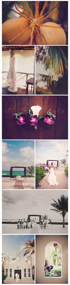 Destination wedding photography in Riviera Maya, Mexico