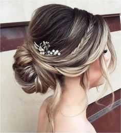 Excellent Wedding Hairstyle: Updo Inspiration https://bridalore.com/2017/11/12/wedding-hairstyle-updo-inspiration/