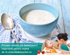Reteta de budinca de gris cu lapte pentru copii care au implinit deja 1 an. Se ofera icul dejun sau dupa somnul de pranz dupa ce s-a introdus individual laptele de vaca si albusul. 1 An, Fondue, Cheese, Ethnic Recipes, Baby, Baby Humor, Infant, Babies, Babys