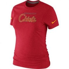 Kansas City Chiefs Nike NFL Women's Triblend Script T-Shirt (Red) Nfl Chiefs, Nfl 49ers, Kansas City Chiefs Apparel, Cardinals Nfl, Nike Store, Nike Nfl, Nike Workout, Sport Outfits, Script