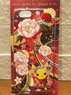 Pokémon Pikachu Hard Jacket for iphone 6/6s case Japan Only Pokemon