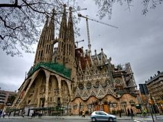 Basílica de la Sagrada Família is one of the brilliant works of Gaudí's fairytale architecture. Basílica de la Sagrada Família is a UNESCO World Heritage Site and is visited by five million tourists each year.