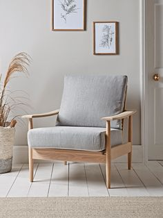 NEW Beech Spindleback Armchair - Soft Grey - Occasional Chairs - Seating - Furniture Ikea Armchair, Retro Armchair, White Armchair, Bedroom Armchair, Armchair Covers, Chesterfield Armchair, Comfy Armchair, Outdoor Armchair, Velvet Armchair