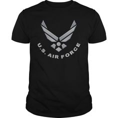 Air Force Logo - This makes a perfect gift for family and friends or a great design for yourself. Choose from tees or sweatshirts. *Exclusive Design - Not sold in stores! T-shirts raise awareness, boost spirits and create lasting connections!
