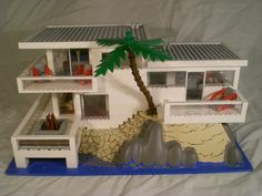 Lego modern house - Which one that you go with should be based on what you intend on doing with your PC. All you will need is some LEGO and a tiny Legos, Lego Lego, Lego Moc, Easy Lego Creations, Lego Mansion, Lego Beach, Casa Lego, Lego Sculptures, Micro Lego