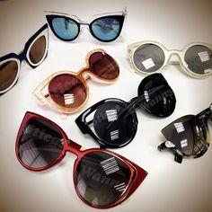 Óculos Estilo Gatinho · Quem quer um de cada para curtir o verão  ☀ ☀ ☀   UmOculosPorDia   d82cbde931