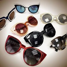 Quem quer um de cada para curtir o verão? ☀ ☀ ☀ #UmOculosPorDia #OticasWanny…