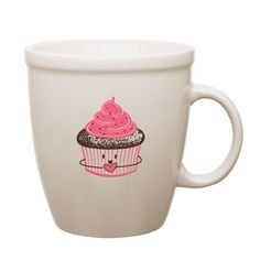 Love, Cupcake Ceramic Mug Set, $16.99, now featured on Fab.