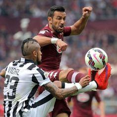 Arturo #Vidal contro Fabio #Quagliarella
