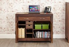 Home office - clear the clutter
