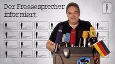 Fressesprecher Kalkofe in Sachen Merkels Neuland: Eine Geschichte voller Missverständnisse