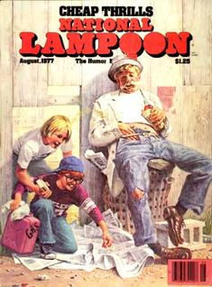 National Lampoon Magazine  # 89 - August 1977 pdf Back Issues Collection  Archives Download DVD Ebay
