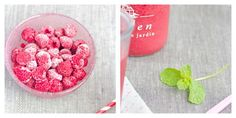 smoothie framboise citron