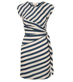 We are loving this Badger Dress. As we all know stripes are huge this SS13. Very pretty yet pratical.Team it with a colour-pop clutch and ankle boots for the coolest look at cocktail hour.