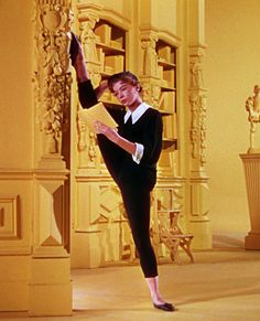 Leslie Caron reading between dances in An American in Paris (1951). The plot may be problematic, but such concerns are rendered superfluous ...