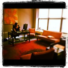 Check out Executive Producer Janet Annino in her new office at our brand-new studio!