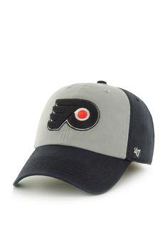 ac45cfb43 '47 Philadelphia Flyers Mens Black '47 Franchise Fitted Hat, Black, 51%  COTTON/ 49% POLY, Size S. '