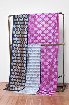 """Madeline Weinrib - Brocade - Fabrics """"Steel Bellini"""""""