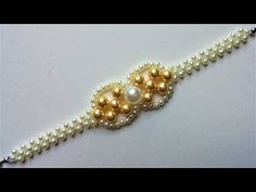Elegant Beads Bracelet. DIY project for beginners - YouTube