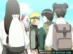 Gai Piggybacking Kakashi   #Naruto