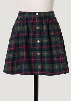 Private School Plaid Skirt at #Ruche @Ruche