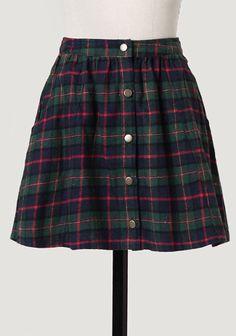 Private School Plaid Skirt at #Ruche @Ruche