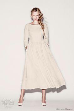 http://weddinginspirasi.com/2012/01/25/delphine-manivet-wedding-dresses-spring-2012/  { delphine manivet short #wedding dress 2012 collection }  #weddings #weddingdress