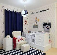 decoraçao quarto de menino tema futebol - Pesquisa Google