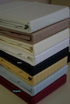 CalKing Waterbed Pin Stripe 600 Thread count 100% Egyptian cotton Sheet sets (unattached) $89.99 www.scotts-sales.com