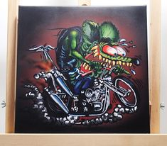 rat & chopper, rat fink