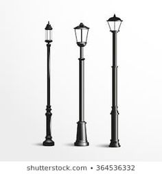 Similar Images, Stock Photos & Vectors of Lamp post collection - 102187369 Vectors, Royalty Free Stock Photos, Black And White, Street, Illustration, Pictures, Image, Collection, Photos