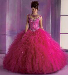 Photos of Vizcaya Quinceanera Open Back Dress 89014