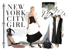 """New York City Girl"" by bobiilondon ❤ liked on Polyvore"