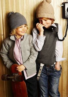 """George and Fred like to play a game they call """"Dial international numbers and speak in cockney."""""""