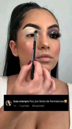 Flawless Makeup, Glam Makeup, Diy Makeup, Eyeshadow Makeup, Makeup Tips, Beauty Makeup, Colorful Makeup, Simple Makeup, Natural Makeup